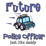Future Policeman just like Dad