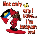 Not only am I cute I'm Antiguan too!