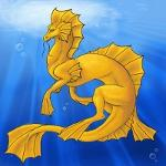 Shallow Water Dragon by Marrionetta