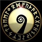 oseberg rune shield