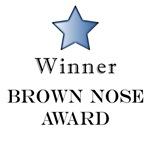 The Brown Nose Award