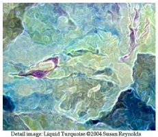 Twilight Garden & Liquid Turquoise- Prints & More