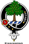 Kinninmond Clan Crest Badge
