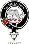 Kennedy Clan Crest Badge