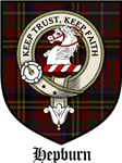 Hepburn Clan Badge / Crest / Tartan
