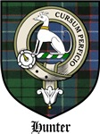 Hunter Clan Badge / Crest / Tartan