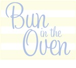 Bun in The Oven - Blue