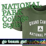 National Park T-Shirts: College Style