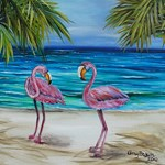 Loving Pink Flamingos