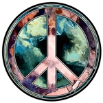 Abstract Art World Peace Design