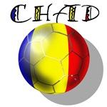 Chad football flag Soccer