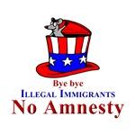 No Amnesty Hat Bye bye