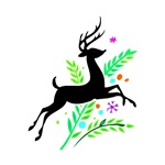 Christmas Reindeer Animal Gifts & T-shirts!