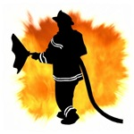 Firefighter Flames Gifts & T-Shirts