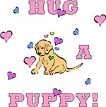 Puppy Hugs To Show Your Puppy Love!