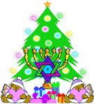 Christmas and Hanukkah Family