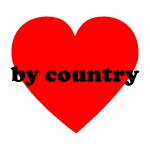 (heart) by Country