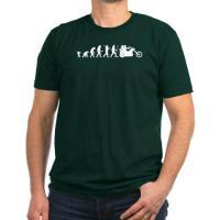 evolution of man (biker,archer,rocker, etc.)