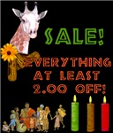 SPECIAL SALE ITEMS!