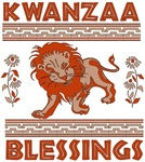 Happy Kwanzaa Lion