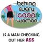 Behind Woman