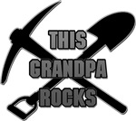 This Grandpa Rocks T-Shirts Gifts
