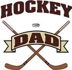 Hockey Dad T-Shirts Gifts.