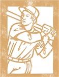 Vintage Retro Baseball T-Shirts