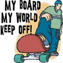 Skateboarding T-Shirt & Gifts