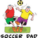 Soccer DAD T-Shirt & Gifts