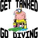 Go Diving T-Shirt Gifts