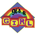 It's A Girl T-Shirt Gift