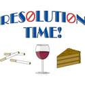 New Year Resolution T-Shirts & Gifts