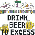New Years Resolution T Shirt & Gifts