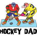 Hockey Dad T-Shirt and Gifts