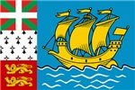 Saint Pierre and Miquelon Flag