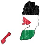 Palestine Flag And Map