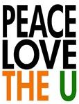 peace love the u