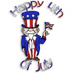 Uncle Sam Happy 4th of July