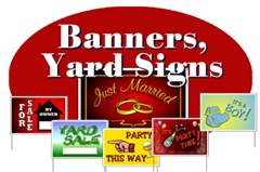 YARD SIGNS & BANNERS