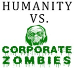 Humanity vs. Corporate Zombies
