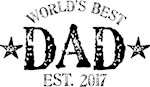 World's Best Dad Est. 2017