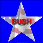 BUSH FLAG STAR
