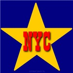 NYC Star Monogram