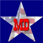 MD Patriotic State Star