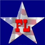FL Patriotic State Star