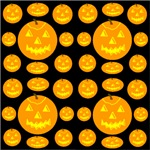 Thirty-six Jack-o-lanterns