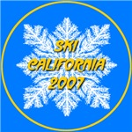 * On Sale * Ski California 2007 Snowflake