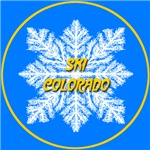 Ski Colorado Snowflake