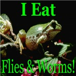 I Eat Flies & Worms!